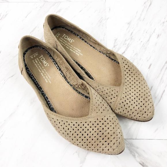 Diamond Jutti Pointed Toe Flats Womens